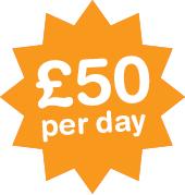 £50 per day