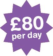 £80 per day